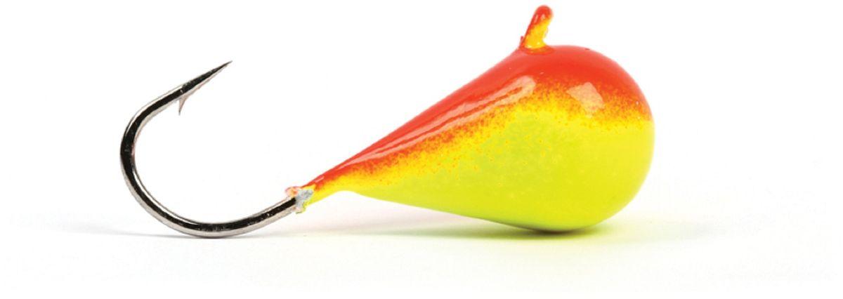 Мормышка вольфрамовая Asseri Капля, с ушком, цвет: красный, желтый, диаметр 3 мм, вес 0,36 г, 5 шт57573Зимняя мормышка Asseri Капля используется для ловли не самой активной рыбы. Она небольшого размера, окрашена так, чтобы издалека привлечь рыбу. Обычно на нее надевают какую-нибудь насадку. Каплевидная мормышка лучше покачивается при движении зимней удочки. Мормышка-капелька применяется для безмотыльной ловли рыбы при наклонной подвеске. Привлекает рыбу и при шевелении на дне. Мормышка капля - это отличный выбор для новичка в зимней рыбалке.