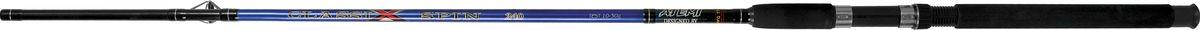 Удилище спиннинговое штекерное Atemi Classix Spin, с неопреновой ручкой, 2,1 м, 100-200 г