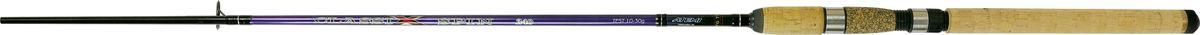 Cпиннинг штекерный Atemi Classix Spin, с пробковой ручкой, 2,7 м, 20-40 г205-08270Штекерное удилище с пробковой ручкой Atemi Classix Spin порадует даже опытного рыболова. Спиннинг отлично подойдет для ловли некрупной рыбы - форели, окуня. Удилище выполнено из прочного, ударостойкого стеклопластика. Оно способно долго находиться под сильной нагрузкой и не ломаться. В тоже время спиннинг довольно тяжел. Пробковая ручка будет в любое время года теплой и приятно ложится в руке, не скользит. Спиннинг отлично сбалансирован. Облегченные кольца изготовлены из высококачественного материала и изнутри покрыты керамикой, что дает возможность использовать плетеные лески. Классический винтовой катушкодержатель подходит для большинства типов катушек. Вес: 180 г.Длина: 2,7 м.Секций: 2.Тест: 20-40 г.Длина при транспортировке: 95 см.