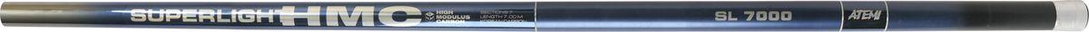 Удилище телескопическое Atemi Superlight HMC, без колец, 2-10 г, 8 м8652Телескопическое удилище Atemi Superlight HMC отлично подойдет для начинающих рыболовов. Оно сочетает в себе соотношение цены и качества. Прекрасный строй легких удилищ позволяет рыболову получить удовольствие от рыбалки и выполнить своевременную подсечку при ловле некрупной рыбы.