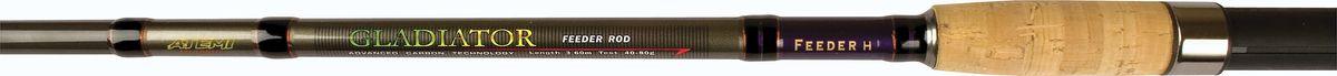 Удилище фидерное Atemi Gladiator Feeder, 3,3 м, 80-140 гPGPS7797CIS08GBNVТрехколенное фидерное удилище Atemi Gladiator Feeder изготовлено из высокомодульного графита IM7. Фидер укомплектован пропускными кольцами SIC. Рукоятка изготовлена из пробки. Это фидерное удилище, благодаря большой длине и особым характеристикам заброса, позволит доставить наживку к рыбе, стоящей далеко от берега. В комплект входят три графитовые вершинки с разной жесткостью в пластиковом тубусе. Сменные вершинки повышенной чувствительности помогут, в свою очередь, не пропустить даже самую острожную поклевку.