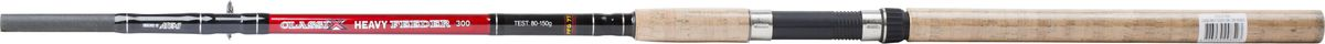 Удилище фидерное Atemi Classix Feeder Heavy, с пробковой ручкой, 3 м, 80-150 гPGPS7797CIS08GBNVФидерное удилище Atemi Classix Feeder Heavy изготовлено из облегченного стекловолокна, благодаря чему оно имеет малый вес. Фидер укомплектован пропускными кольцами с керамическими вставками. Рукоятка изготовлена из пробки. Удилище подходит для широкого круга рыболовов.