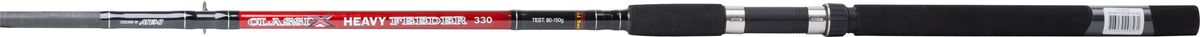Удилище фидерное Atemi Classix Feeder Heavy, с неопреновой ручкой, 3 м, 80-150 гPGPS7797CIS08GBNVФидерное удилище Atemi Classix Feeder Heavy изготовлено из облегченного стекловолокна, благодаря чему оно имеет малый вес. Фидер укомплектован пропускными кольцами с керамическими вставками. Рукоятка изготовлена из мягкого неопрена. Удилище подходит для широкого круга рыболовов.