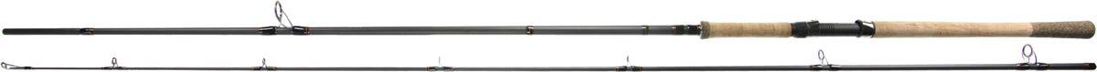 Спиннинг штекерный Blind Royal Salmon 300, 50-90 г4271825Спиннинг штекерный Blind Royal Salmon — это замечательный спиннинг, который изготовлен из высокомодульного графита. Рукоятка изготовлена из пробки, что очень удобно ведь она не скользит и приятно лежит в руке. Все части имеют повышенный запас прочности. Этот спиннинг подойдет как начинающим рыболовам, так и продвинутым мастерам. Обращайте внимание на показатель теста, ведь от него зависит качество и быстрота управления удилищем при забросе той или иной приманки. Если вы не знаете, что подарить своему другу, то этот спиннинг — отличный вариант, ведь все люди любят рыбалку не только из-за улова, но и за счет незабываемой атмосферы умиротворения и спокойствия. Спиннинг поставляется в комплекте с чехлом.Вес: 250 г. Длина: 3 м. Секций: 2. Тест: 50-90 г. Длина при транспортировке: 155 см.