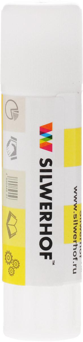 Silwerhof Клей-карандаш 15 г0102016Клей-карандаш Silwerhof на PVP-основе идеально подходит для склеивания бумаги, картона и фотографий. Клей-карандаш экологически безопасен, быстро сохнет и не оставляет следов после высыхания. Вес клея: 15 грамм.