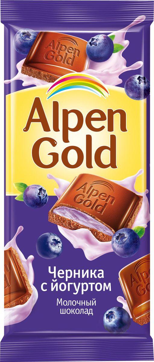 Alpen Gold шоколад молочный с чернично-йогуртовой начинкой, 90 г106458, 4008435Удивительно нежный молочный шоколад Alpen Gold с чернично-йогуртовой начинкой, несомненно, придется по вкусу любителям сладкого. Такая плитка станет удивительно вкусным подарком не только ребенку, но и взрослому. Уважаемые клиенты! Обращаем ваше внимание, что полный перечень состава продукта представлен на дополнительном изображении.