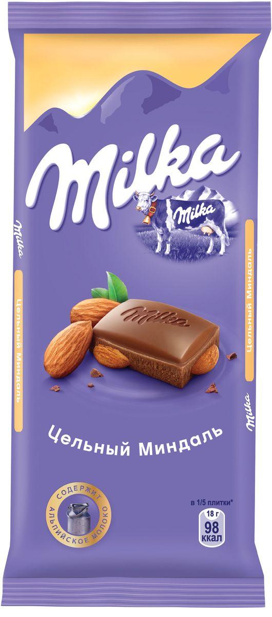 Milka шоколад молочный с цельным миндалем, 90 г012071017 ноября 1825 года швейцарский шоколатье и пекарь Филипп Сушард (1797-1884) открыл в Нушатель, Швейцария, пекарню, где он продавал десерты ручной работы. В течение следующего года производство стремительно расширялось, и фабрика была перенесена в соседний Серрер, в помещение, занимаемое ранее водяной мельницей; Филипп ежедневно продавал уже по 25-30 килограммов шоколада Milka.В течение 1890-ых в шоколадную продукцию Suchard начало добавляться молоко. Согласно Хорватским источникам, название для шоколадной продукции Милка было выбрано Филиппом в знак его страсти, почтения и симпатии к хорватской сопрано-певице Милке Терниной (1863-1941).В 1970 компания Suchard слилась со швейцарским производителем Toblerone, образовав этим слиянием Interfood. В 1982 Interfood была объединена с кофейной компанией Jacobs, превратившись в Jacobs Suchard, которая вскоре была приобретена, (включая бренд Milka), компанией Kraft Foods. В октябре 2012 года компания была переименована в Mondelez International.