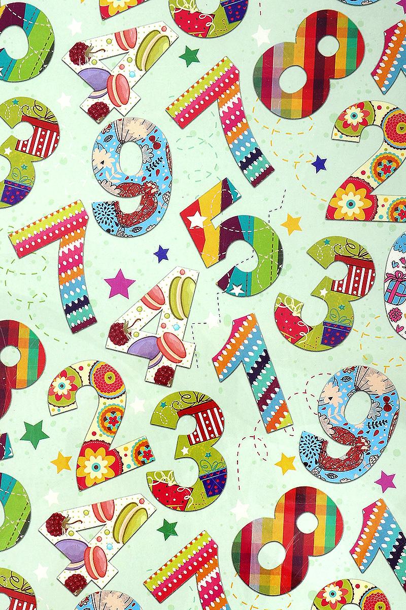 Бумага упаковочная Феникс-Презент Веселый счет, 100 х 70 см41873Упаковочная бумага Феникс-Презент Веселый счет оформлена полноцветным декоративным рисунком. Подарок, преподнесенный в оригинальной упаковке, всегда будет самым эффектным и запоминающимся. Бумага с одной стороны мелованная.Окружите близких людей вниманием и заботой, вручив презент в нарядном, праздничном оформлении.Размер: 100 х 70 см.Плотность бумаги: 80 г/м2.