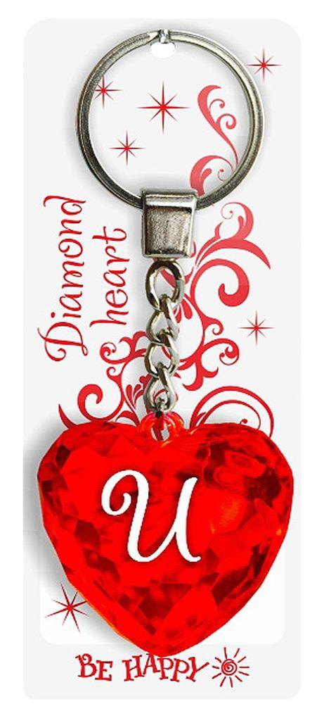 Брелок Be Happy Диамантовое сердце. И3581Оригинальный брелок Be Happy Диамантовое сердце, изготовленный из высококачественного пластика, станет отличным подарком. Это не только приятный, но и практичный сувенир для каждодневного использования, ведь такое хрустальное сердце - не просто брелок, а модный аксессуар. Брелоком можно украсить сумочку, детскую коляску или повесить на ключи. Переливающиеся грани и блестящая поверхность создадут гламурный образ. Длина цепочки - 4 см. Диаметр кольца - 2 см.
