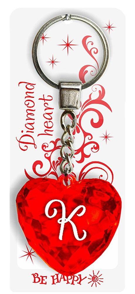 Брелок Be Happy Диамантовое сердце. КRG-D31SОригинальный брелок Be Happy Диамантовое сердце, изготовленный из высококачественного пластика, станет отличным подарком. Это не только приятный, но и практичный сувенир для каждодневного использования, ведь такое хрустальное сердце - не просто брелок, а модный аксессуар. Брелоком можно украсить сумочку, детскую коляску или повесить на ключи. Переливающиеся грани и блестящая поверхность создадут гламурный образ. Длина цепочки - 4 см. Диаметр кольца - 2 см.