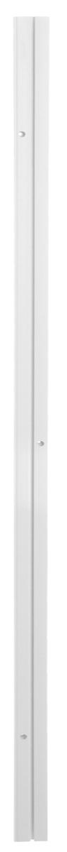 Карниз шинный Эскар, однорядный, с аксессуарами, цвет: белый, длина 1,5 м391602Однорядный шинный карниз Эскар, выполненный из пластика белого цвета, подходит для штор любого типа. Такой вид карнизов прост по конструкции (шины и бегунки) и будет практически не заметен. Способ крепления таких карнизов, в основном, потолочный. Помимо практичности, шинный карниз обладает рядом других преимуществ: при открытии и закрытии штор он создает минимум шума. Такой карниз также является водостойким, что позволяет использовать его в ванной комнате и на балконе. Он подойдет для любых видов штор, за исключением очень тяжелых тканей. В комплекте - карниз, 15 крючков, аксессуары для крепления.