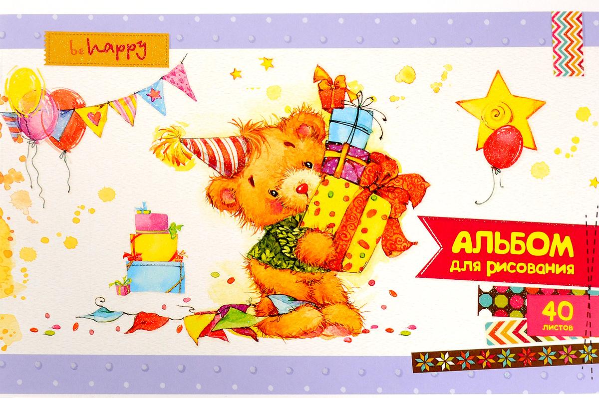ArtSpace Альбом для рисования Мультяшки Cute Fluffy 40 листовА40БЛ_9103Альбом для рисования ArtSpace Мультяшки. Cute Fluffy будет вдохновлять ребенка на творческий процесс.Альбом изготовлен из белоснежной бумаги с яркой обложкой из плотного картона с блестками, оформленной оригинальным изображением. Внутренний блок альбома состоит из 40 листов бумаги. Способ крепления - скрепки.Высокое качество бумаги позволяет рисовать в альбоме карандашами, фломастерами, акварельными и гуашевыми красками.Во время рисования совершенствуются ассоциативное, аналитическое и творческое мышления. Занимаясь изобразительным творчеством, малыш тренирует мелкую моторику рук, становится более усидчивым и спокойным.