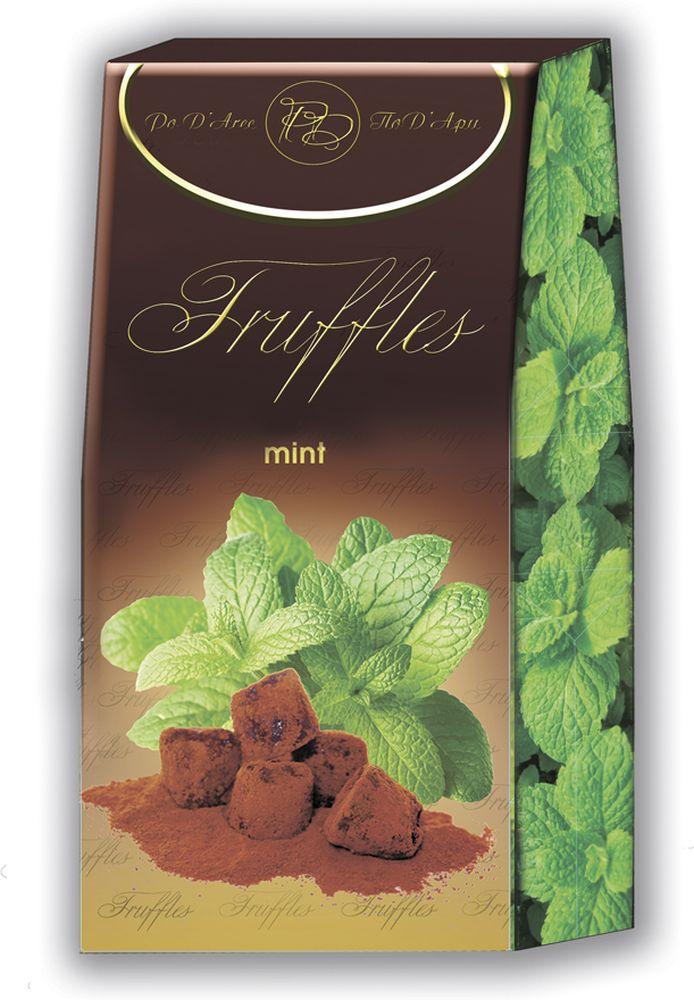 Chocolat Mathez Набор конфет Трюфель французский с мятным вкусом, 160 гУТ-00005221Трюфели классическиеMathez- оригинальные французские трюфели cо вкусом мяты.