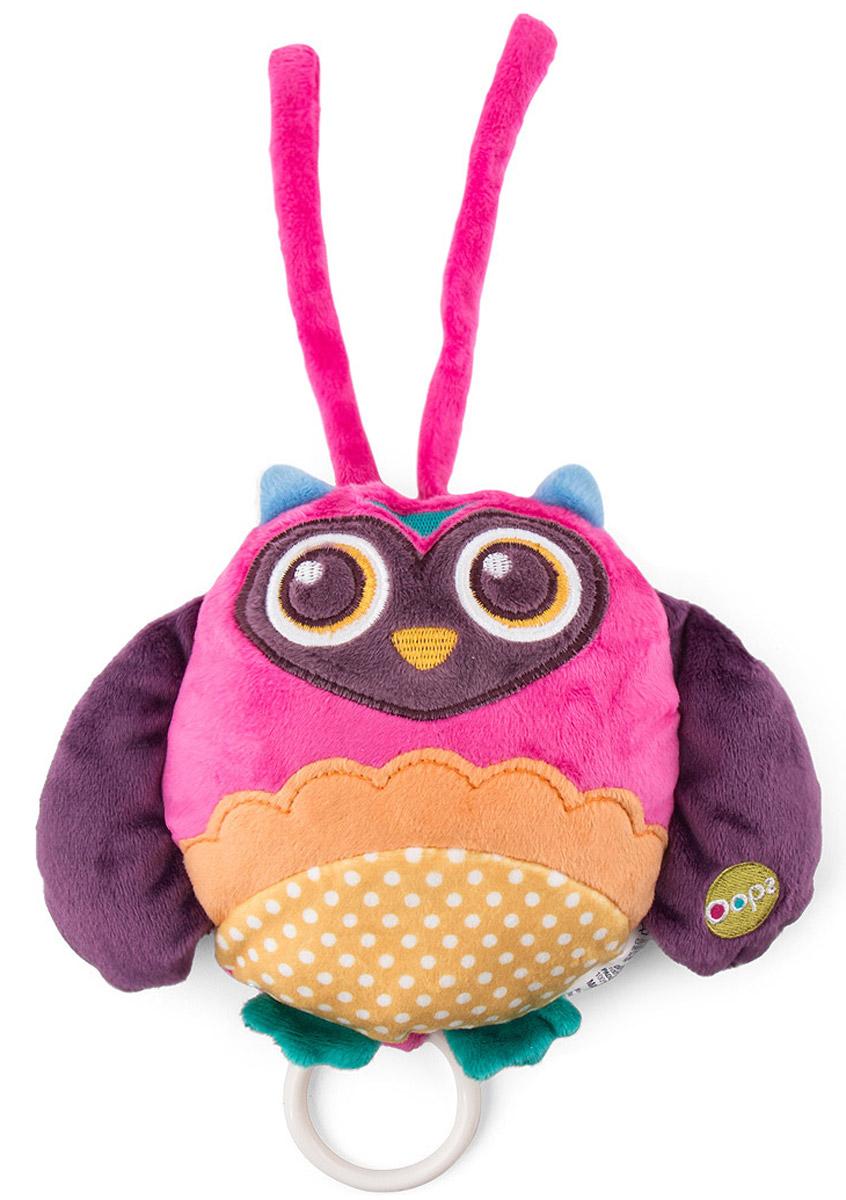 Oops Музыкальная игрушка-подвеска Сова cova подвеска котик