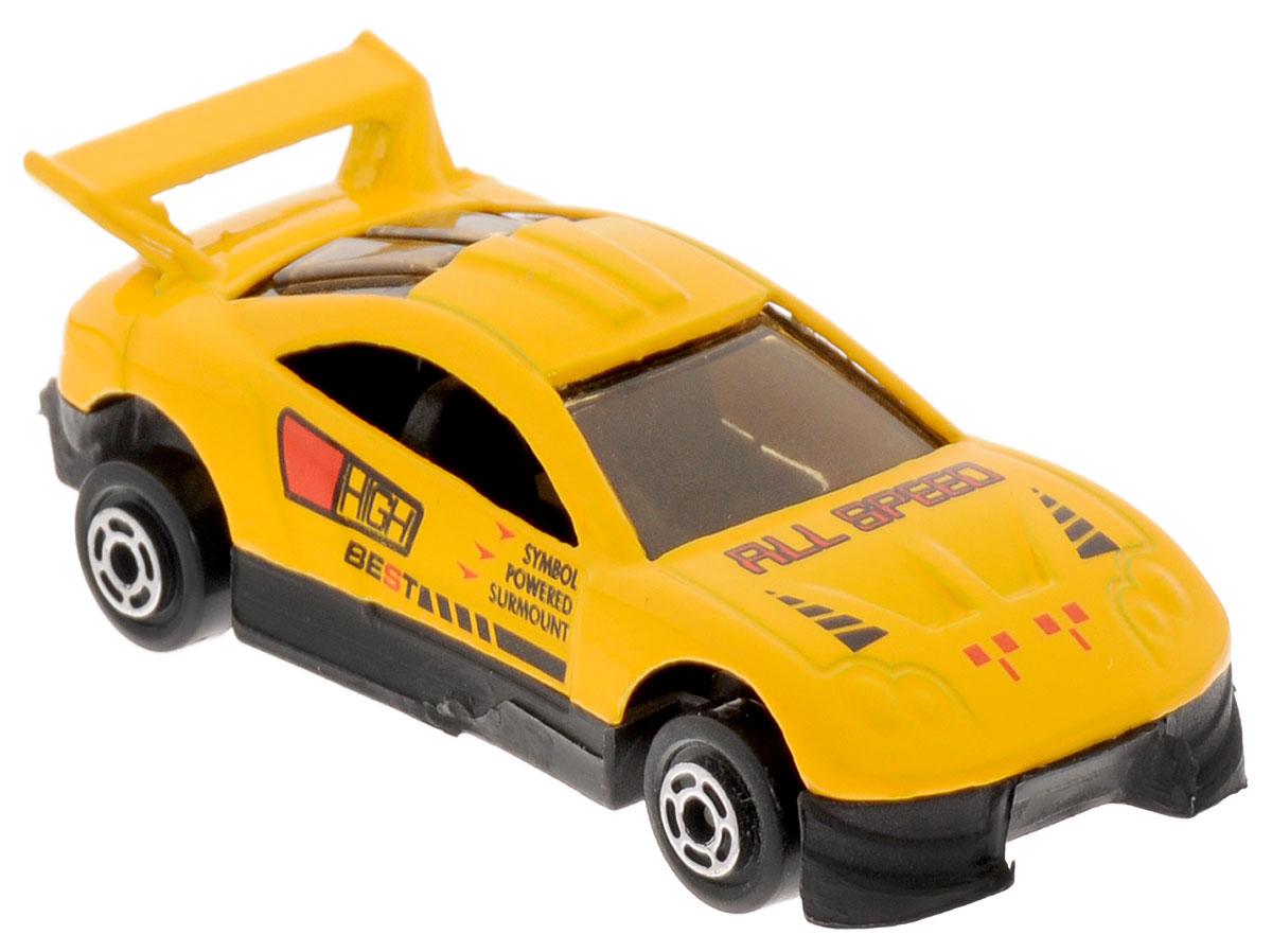 Big Motors Машинка цвет желтый