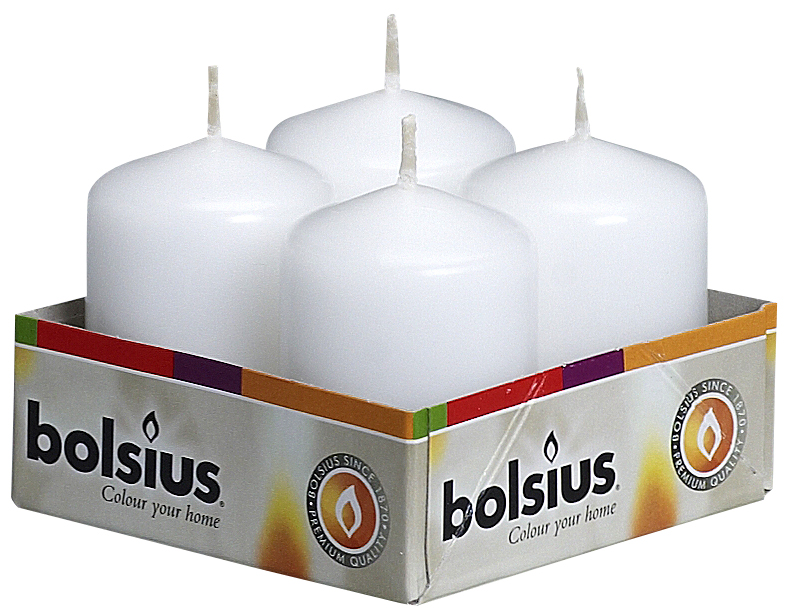 Набор свечей Bolsius, цвет: белый, высота 5,5 см, 4 штRG-D31SНабор Bolsius состоит из четырех декоративных свечей, изготовленных из парафина. Такие свечи создадут атмосферу таинственности и загадочности и наполнят ваш дом волшебством и ощущением праздника. Хороший сувенир для друзей и близких.