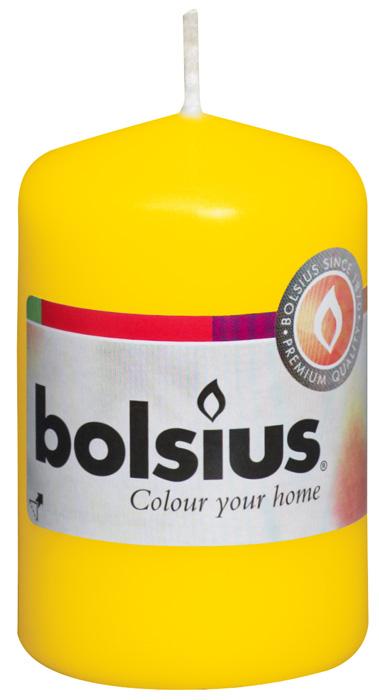 Свеча Bolsius, цвет: желтый, высота 8 см74-0120Свеча Bolsius выполнена из парафина в классическом стиле. Ее можно поставить в любое место и она станет ярким украшением интерьера. Свеча Bolsius создаст незабываемую атмосферу, будь то торжество, романтический вечер или будничный день.