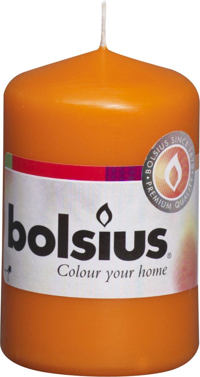 Свеча Bolsius, цвет: оранжевый, высота 8 см103613200136Свеча Bolsius выполнена из парафина в классическом стиле. Ее можно поставить в любое место и она станет ярким украшением интерьера. Свеча Bolsius создаст незабываемую атмосферу, будь то торжество, романтический вечер или будничный день.