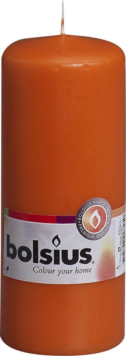 """Свеча """"Bolsius"""", цвет: оранжевый, высота 15 см"""