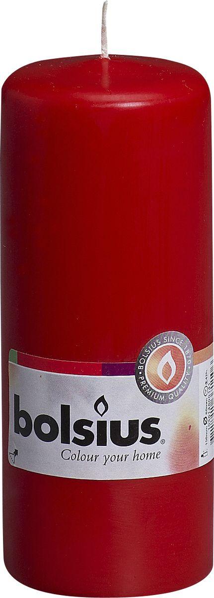 Ароматизированная свеча Bolsius, цвет: красный, высота 15 см103614600141Ароматизированная свеча Bolsius изготовлена из парафина. Изделие отличается оригинальным дизайном и приятным ароматом. Такая свеча не только поможет дополнить интерьер вашей комнаты, но и станет отличным подарком.Диаметр - 6 см Высота - 15 см