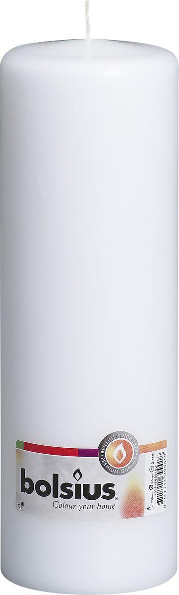 Свеча Bolsius, цвет: белый, высота 25 смБрелок для ключейСвеча Bolsius выполнена из парафина в классическом стиле. Ее можно поставить в любое место и она станет ярким украшением интерьера. Свеча Bolsius создаст незабываемую атмосферу, будь то торжество, романтический вечер или будничный день.