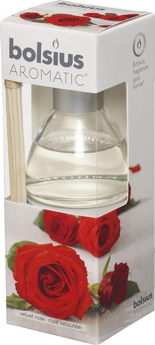 Диффузор ароматический Bolsius Роза, 45 мл5A2165-RАроматический диффузор Bolsius - это простое, изящное и долговременное решение, как наполнить дом или офис приятным запахом.Диффузор - это не просто освежитель воздуха, а элемент декора, который окутает вас своим приятным и нежным ароматом. Отлично подойдет в качестве подарка. Способ применения: поместите палочки в вазу с ароматической жидкостью. Степень интенсивности запаха может регулироваться объемом ароматической жидкости и количеством палочек. Товар сертифицирован.