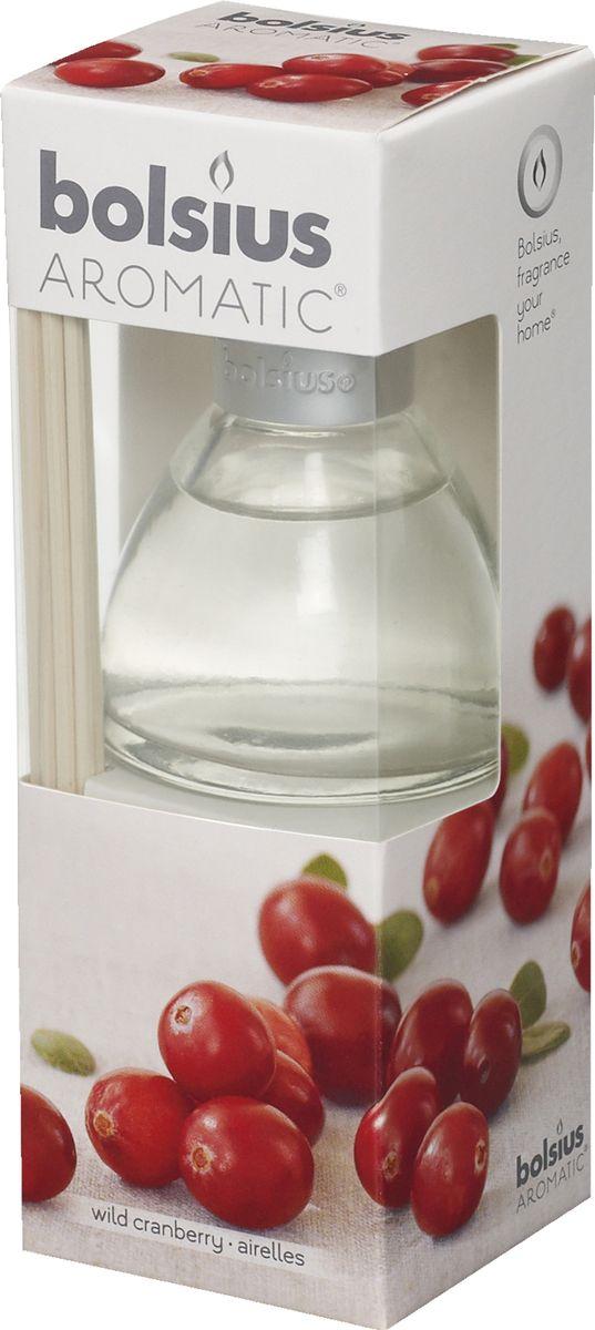 Диффузор ароматический Bolsius Клюква, 45 мл08GSS1118-PАроматический диффузор Bolsius - это простое, изящное и долговременное решение, как наполнить дом или офис приятным запахом.Диффузор - это не просто освежитель воздуха, а элемент декора, который окутает вас своим приятным и нежным ароматом. Отлично подойдет в качестве подарка. Способ применения: поместите палочки в вазу с ароматической жидкостью. Степень интенсивности запаха может регулироваться объемом ароматической жидкости и количеством палочек. Товар сертифицирован.