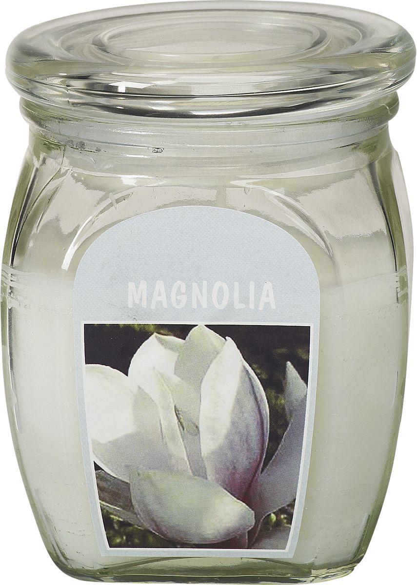 Свеча ароматизированная Bolsius Магнолия, высота 12 смRG-D31SАроматизированная свеча Bolsius, изготовленная из парафина, помещена в подсвечник, выполненный из стекла. Изделие отличается оригинальным дизайном и приятным ароматом. Такая свеча не только поможет дополнить интерьер вашей комнаты, но и станет отличным подарком.