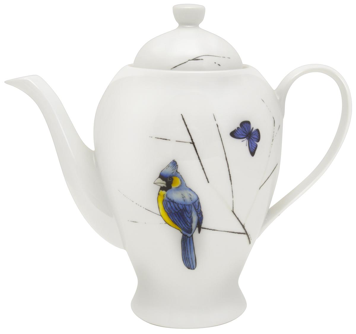 Заварочный чайник Esprado Primavera, 1290 мл. PRML12YE306115510Заварочный чайник, 1290 мл, твердый фарфор, Primavera, Esprado, PRML12YE306