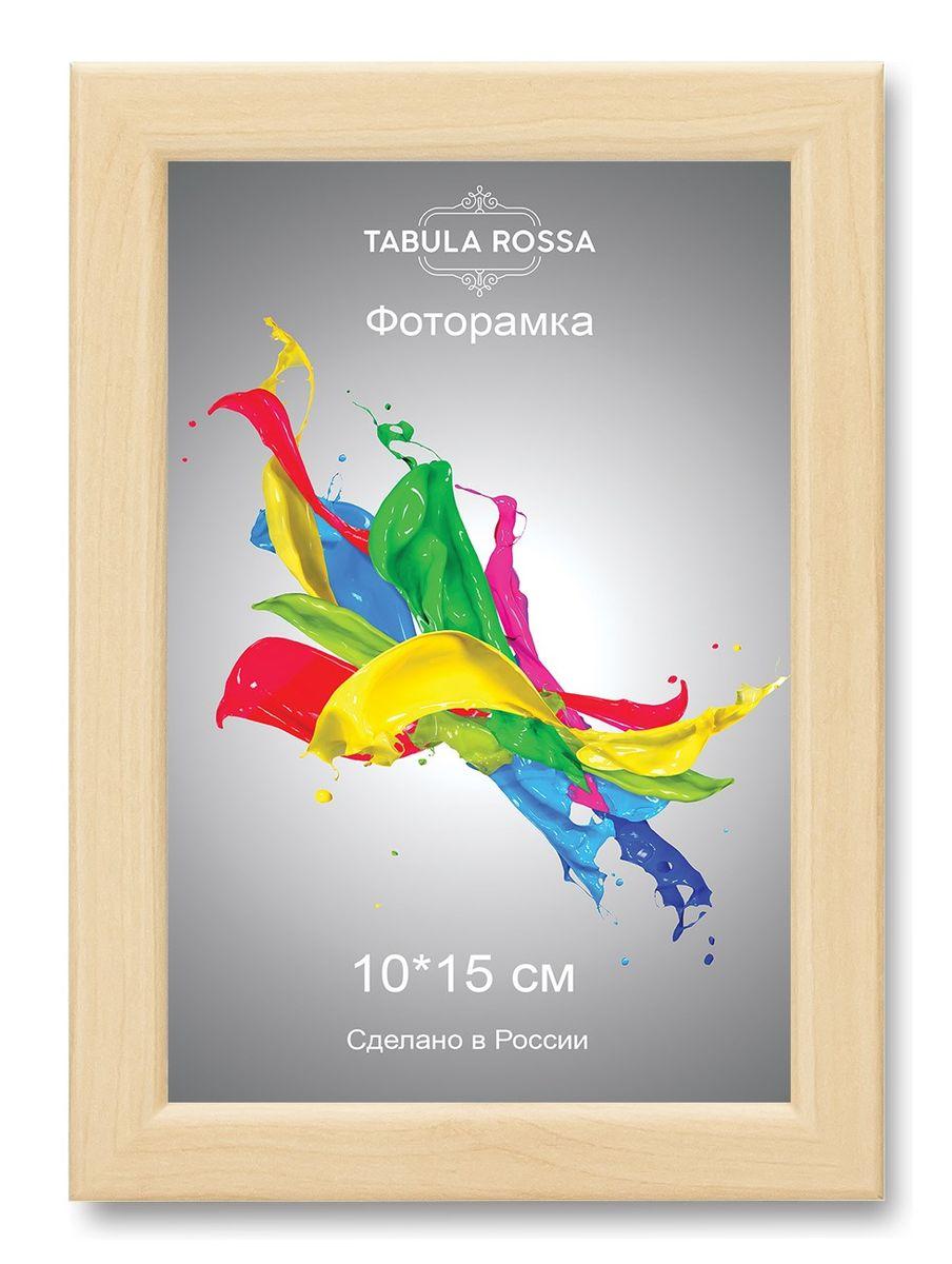 Фоторамка Tabula Rossa, цвет: клен, 10 х 15 см. ТР 511738163Фоторамка Tabula Rossa выполнена в классическом стиле из высококачественного МДФ и стекла, защищающего фотографию. Оборотная сторона рамки оснащена специальной ножкой, благодаря которой ее можно поставить на стол или любое другое место в доме или офисе. Также изделие дополнено двумя специальными креплениями для подвешивания на стену.Такая фоторамка не теряет своих свойств со временем, не деформируется и не выцветает. Она поможет вам оригинально и стильно дополнить интерьер помещения, а также позволит сохранить память о дорогих вам людях и интересных событиях вашей жизни.