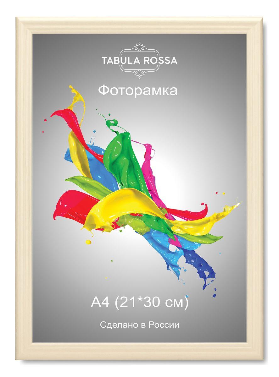 Фоторамка Tabula Rossa, цвет: слоновая кость, 21 х 30 см. ТР 6013 фоторамка tabula rossa металлик цвет серебристый 21 х 30 см