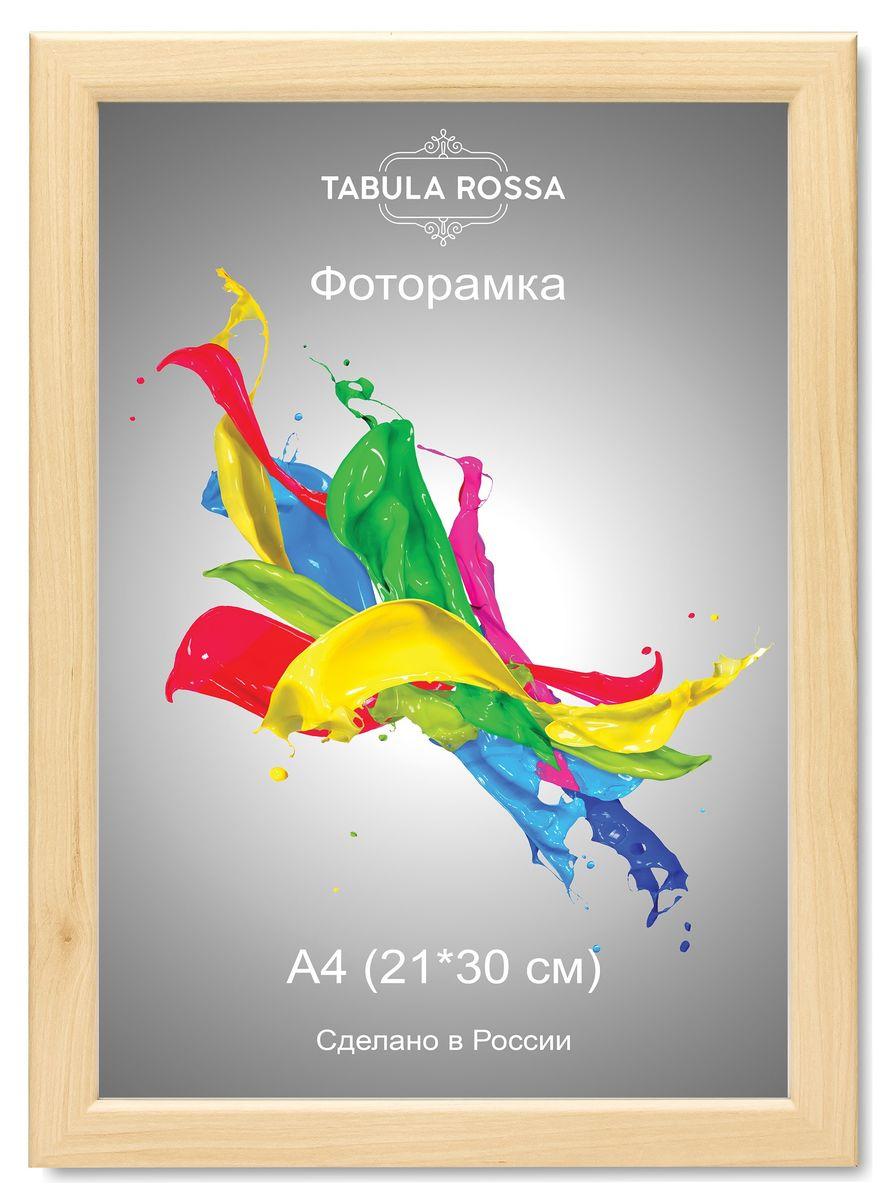 Фоторамка Tabula Rossa, цвет: клен, 21 х 30 см. ТР 6033 фоторамка tabula rossa металлик цвет серебристый 21 х 30 см