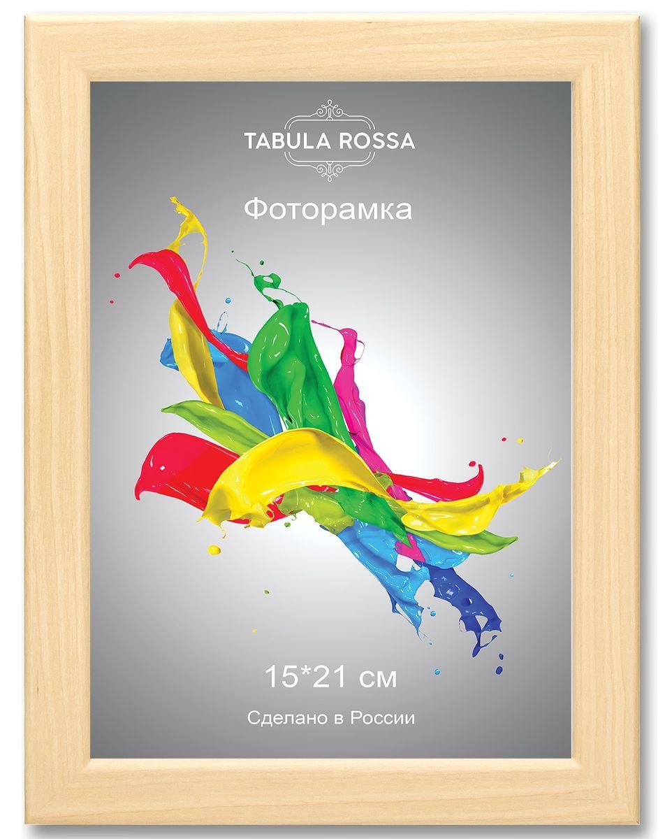 Фоторамка Tabula Rossa, цвет: клен, 15 х 21 см. ТР 6035ТР 5004Фоторамка Tabula Rossa выполнена в классическом стиле из высококачественного МДФ и стекла, защищающего фотографию. Оборотная сторона рамки оснащена специальной ножкой, благодаря которой ее можно поставить на стол или любое другое место в доме или офисе. Также изделие дополнено двумя специальными креплениями для подвешивания на стену.Такая фоторамка не теряет своих свойств со временем, не деформируется и не выцветает. Она поможет вам оригинально и стильно дополнить интерьер помещения, а также позволит сохранить память о дорогих вам людях и интересных событиях вашей жизни.