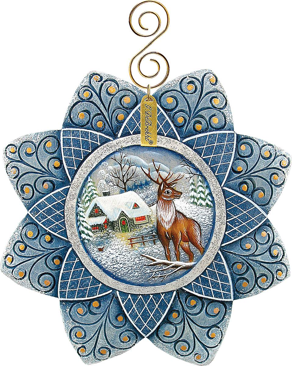 Украшение новогоднее подвесное Mister Christmas Снежинка, высота 10 смТНД85001Новогоднее подвесное украшение Mister Christmas Снежинка прекрасно подойдет для праздничного декора новогодней ели. Украшение выполнено из полистоуна. Для удобного размещения на елке предусмотрена петелька. Елочная игрушка - символ Нового года. Она несет в себе волшебство и красоту праздника. Создайте в своем доме атмосферу веселья и радости, украшая новогоднюю елку нарядными игрушками, которые будут из года в год накапливать теплоту воспоминаний.
