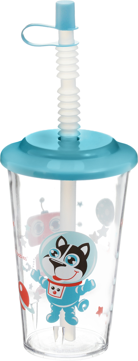 Canpol Babies Поильник с трубочкой Робот 320 мл