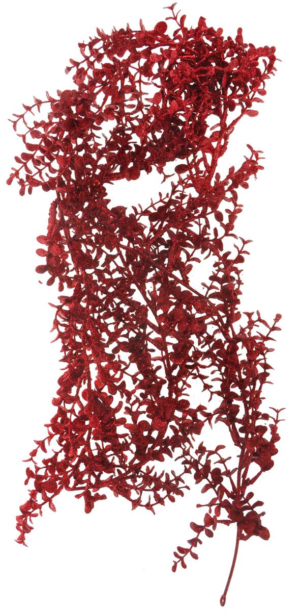Гирдянда новогодняя Lovemark Эвкалипт, цвет: красный, длина 1,8 м502-035Новогодняя гирлянда Lovemark Эвкалипт, выполненная из пластика, украсит интерьер вашего дома или офиса в преддверии Нового года. Оригинальный дизайн и красочное исполнение создадут праздничное настроение. Новогодние украшения всегда несут в себе волшебство и красоту праздника. Создайте в своем доме атмосферу тепла, веселья и радости, украшая его всей семьей.Общая длина гирлянды: 1,8 м.