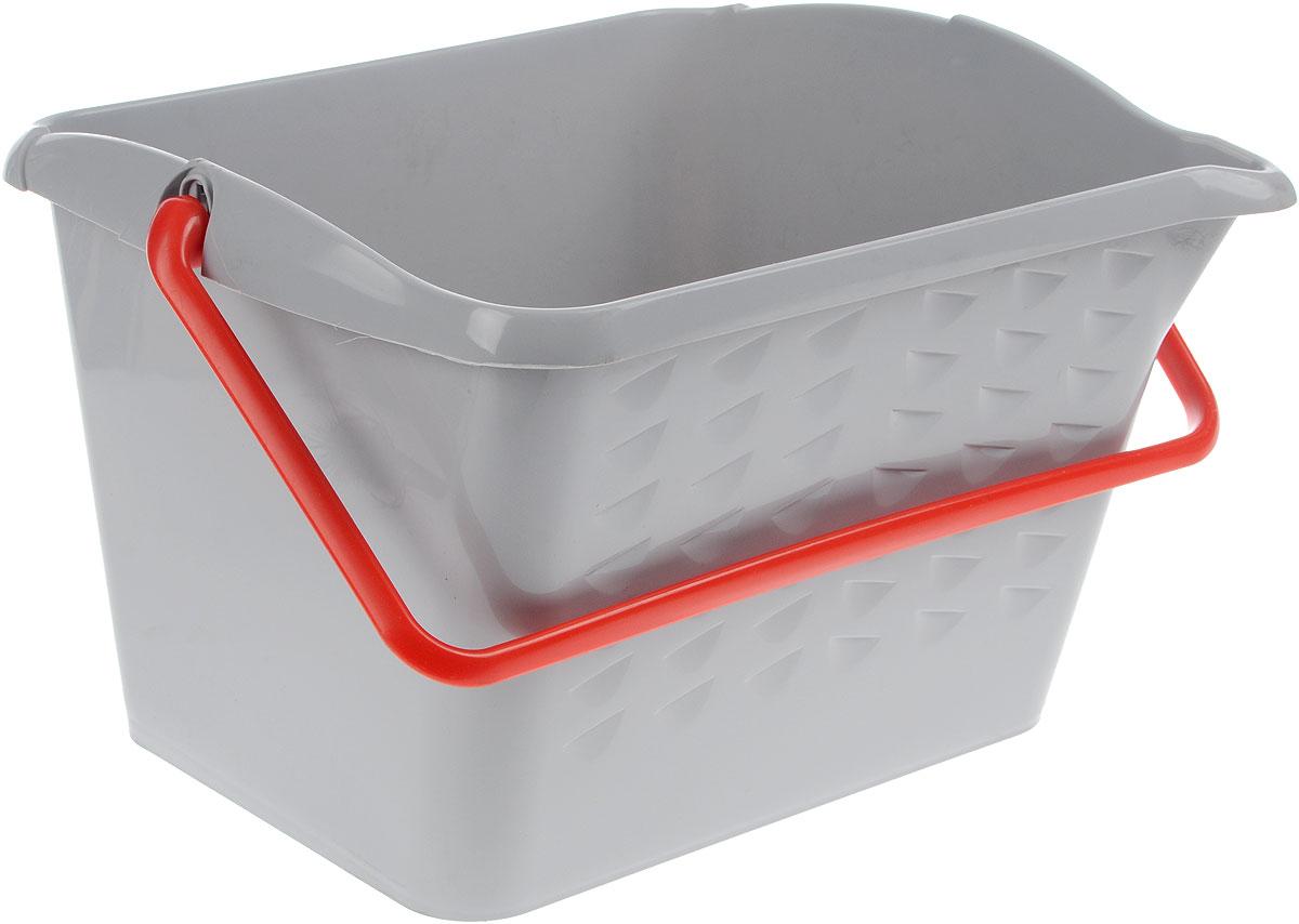 Ведро хозяйственное Fimako, 16 л13007_зеленыйУниверсальное ведро Fimako предназначено для любых хозяйственных целей. Можно использовать для работ с лакокрасочными материалами. Изделие изготовлено из прочного пластика. Ведро снабжено удобной пластиковой ручкой,которая фиксируется в вертикальном положении. Одна из стенок изделия имеет ребристую поверхность для удаления излишков краски. Форма ведра позволяет пользоваться валиком или шваброй практически любого размера.
