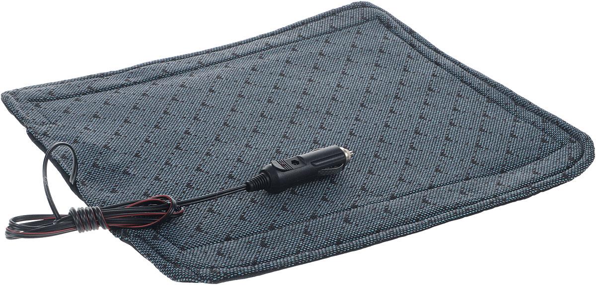 Накидка на сиденье Главдор, с функцией подогрева, 32 х 38 смCA-3505Накидка на сиденье с подогревом Главдор – это отличный подарок для автолюбителей. Изделие изготовлено из специальной ткани, термоизоляционного материала и хлопчатобумажной подкладки. Под верхним слоем ткани располагается нагревательный элемент, равномерно распределяющий тепло по всей поверхности накидки. Использование изделия позволяет уменьшить риск заболеваний, связанных с переохлаждением.Напряжение питания: 12В.