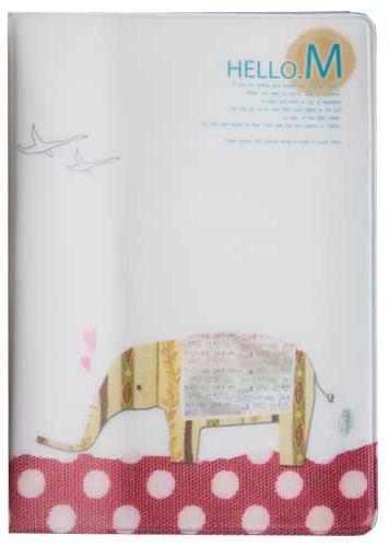 Обложка для паспорта Kawaii Factory Элли, цвет: белый. KW064-000179A52_108Обложка для паспорта от Kawaii Factory- оригинальный и стильный аксессуар, который придется по душе истинным модникам и поклонникам интересного и необычного дизайна.Качественная обложка выполнена из легкого и прочного ПВХ с приятной фактурой, который надежно защищает важный документ от пыли и влаги. Рисунок нанесён специальным образом и защищён от стирания. Изделие раскладывается пополам. Внутри размещены два накладных кармашка из прозрачного ПВХ. Простая, но в то же время стильная обложка для паспорта определенно выделит своего обладателя из толпы и непременно поднимет настроение.