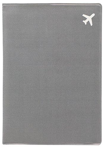 Обложка для паспорта Kawaii Factory Самолет, цвет: серый. KW064-000256993224Обложка для паспорта от Kawaii Factory - оригинальный и стильный аксессуар, который придется по душе истинным модникам и поклонникам интересного и необычного дизайна.Качественная обложка выполнена из легкого и прочного ПВХ с приятной фактурой, который надежно защищает важные документы от пыли и влаги. Рисунок нанесён специальным образом и защищён от стирания.Изделие раскладывается пополам. Внутри размещены два накладных кармашка из прозрачного ПВХ.