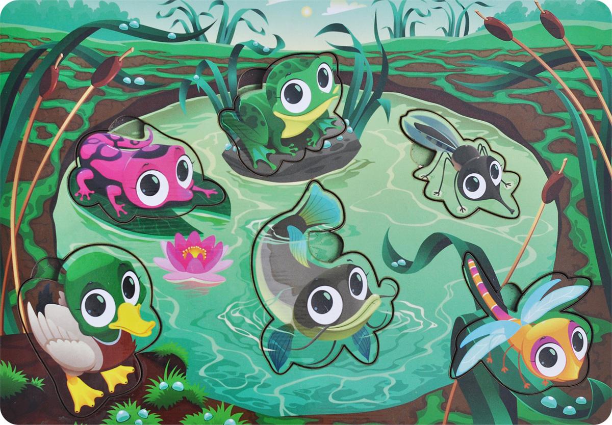 Фабрика Мастер игрушек Рамка-вкладыш Водоем фабрика мастер игрушек рамка вкладыш водоем