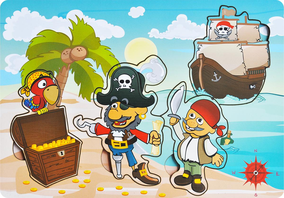Фабрика Мастер игрушек Рамка-вкладыш Капитан Крюк