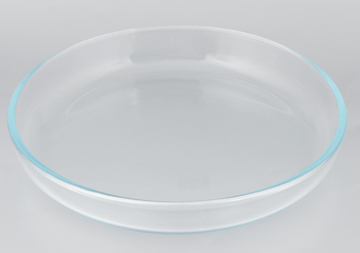 Форма для выпечки VGP, круглая, диаметр 28 см630617Форма для выпечки VGP изготовлена из термостойкого и экологически чистого стекла и применяется для приготовления пищи в духовке, жарочном шкафу и микроволновой печи. Изделие пригодно для хранения и замораживания различных продуктов, а также для сервировки и декоративного оформления. Форма круглая, удобна для приготовления пирогов, кексов и другой выпечки. Можно мыть в посудомоечной машине, ставить в холодильник и морозильную камеру. Диаметр формы: 28 см. Высота стенки: 4,5 см.