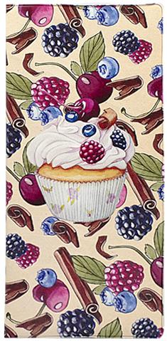Обложка для документов женская Kawaii Factory  Cupcake , цвет: бежевый. KW066-000006 - Конверты для путешествий