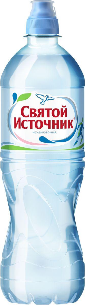СвятойИсточник вода Спортприродная питьевая негазированная, 0,75 л вода святой источник спортик негазированная