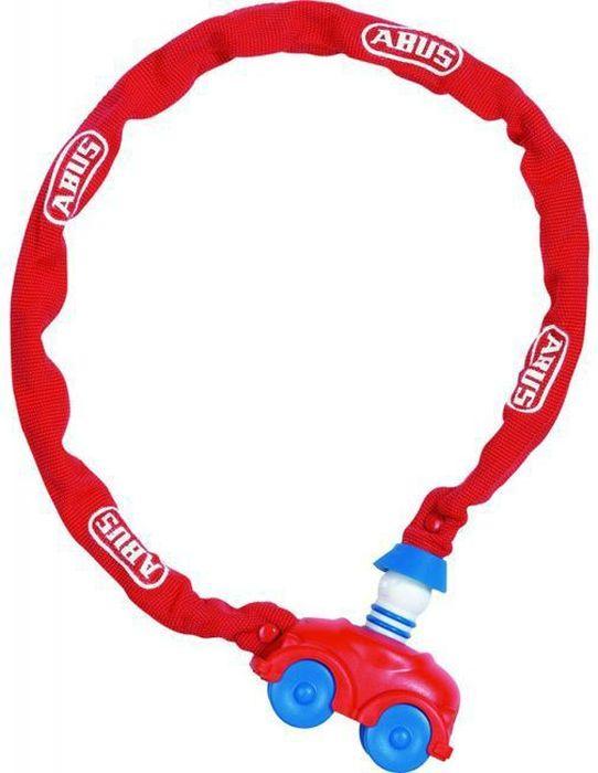 Велозамок Abus My First 1510/60, с ключами, цвет: красныйMW-1462-01-SR серебристыйЗамок велосипедный Abus My First выполнен в пластиковом чехле в виде машинки (специально разработанный дизайн для детей).У замка автоматическое закрывание. Рекомендуется для использования в условиях с низким риском хищения. Элементарный в использовании, яркий, с замком в виде игрушки - к этому велозамку идет еще и стильный чехол. Тип: трос с ключом (Kid Locks).Материал: Сталь в ПВХ оболочке.Длина(мм): 600.Толщина троса(мм): 4.Ключ: 2 штуки.Уровень защиты: 1 (стандарт).Вес: 300 г.Только для детей!