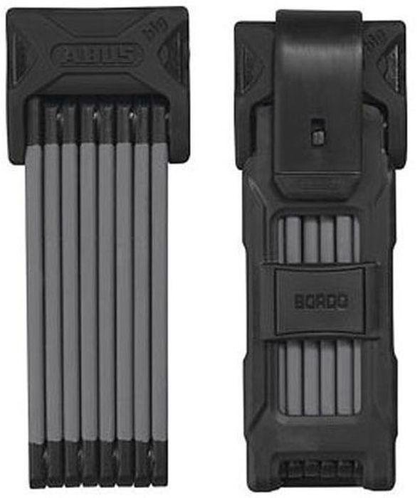 Велозамок Abus Bordo 6000/120, с ключами, цвет: черныйAIRWHEEL Q3-340WH-BLACKКомпактный складной велозамок Abus Bordo изготовлен из закаленной стали с мягким покрытием для предотвращения повреждения лакокрасочного покрытия велосипеда. Такой замок - отличная вещь для сохранности вашего велосипеда. Замок с автоматической блокировкой.Степень защиты: 10 из 15. Количество ключей: 2 шт.Диаметр стержня: 5 мм.Окружность: 120 см.