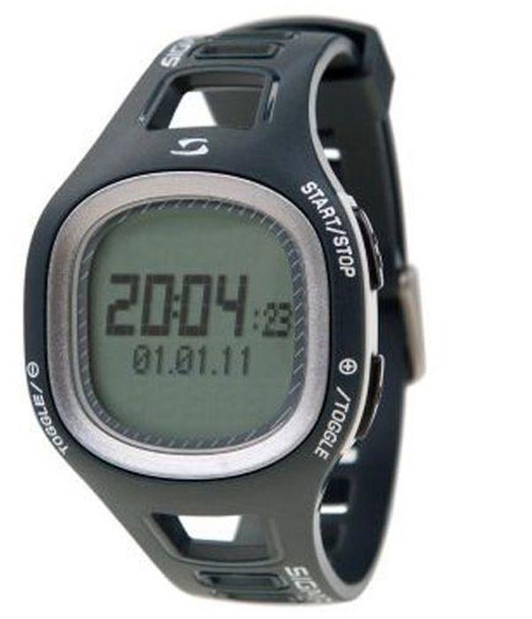 Пульсометр Sigma PC10.11, 10 функций, цвет: серыйSIG_23112Пульсометр (кардиомонитор, монитор сердечного ритма) представляет из себя портативное устройство определяющее ваш пульс. Современные пульсометры снабжены и многими другими полезными функциями - подбор программы индивидуальной тренировки, определение максимальной скорости, беговой индекс, определение кол-ва сожженных во время тренировки калорий и пр. Особенности: влагозащищенный ЭКГ-точность 3 кнопки Функции: тренировочный менеджер с 1 программируемой зоной текущий, максимальный и средний пульс счетчик калорий время тренировки и время в процентах для каждой тренировочной зоны звуковой и визуальный индикатор зон индикация зарядки батарейки Комлектация: Часы-пульсометр Аналоговый нагрудный передатчик + ремень к нему Русская инструкция