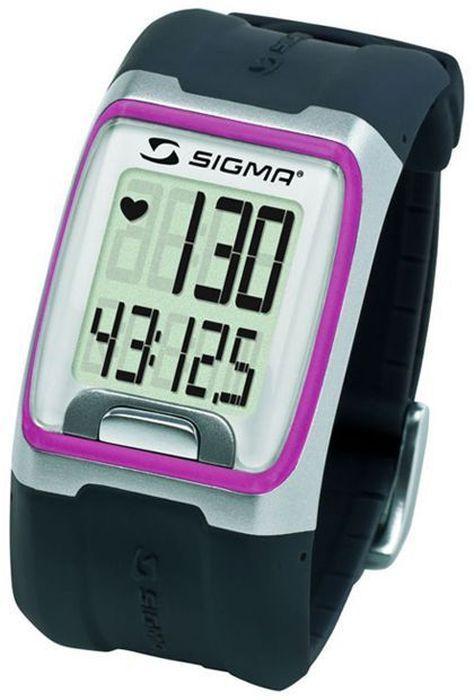 Пульсометр Sigma PC 3.11, 3 функции, цвет: розовыйi6ProПульсометр (кардиомонитор, монитор сердечного ритма) представляет из себя портативное устройство определяющее ваш пульс. Современные пульсометры снабжены и многими другими полезными функциями - подбор программы индивидуальной тренировки, определение максимальной скорости, беговой индекс, определение кол-ва сожженных во время тренировки калорий и пр. Особенности: влагозащищенный ЭКГ-точность большой экран и цифры управление одной кнопкой секундомер с десятыми долями секунды и возможность его использования без надевания нагрудного датчикаФункции: Пульс Часы СекундомерКомплектация: Часы-пульсометр (3 функции) Аналоговый нагрудный передатчик + ремень к нему Русская инструкция