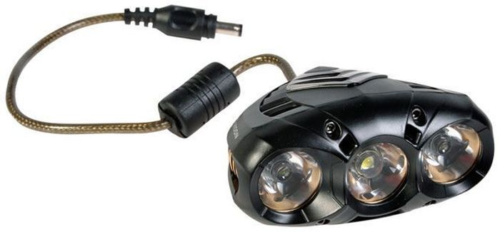 Фонарь передний Moon X-Power1000, 3 диода 7 режимов7292Фонарь передний Moon X-Power1000 со сверх-ярким LED светодиодам для безопасности велосипедиста на дороге. Семь режимов работы обеспечивают видимость в любое время суток. Фонарь водонепроницаем и не боится дождя и грязи. Быстросъемное крепление.Особенности: 3(U2 for X-power 1000) сверх-ярких LED светодиода Алюминиевый корпус 7 вариантов работы: Максимум/ Низко / Стандарт/ Высоко /Мигание / Стробоскоп /SOS Быстросъемное крепление на руль (22-31.8mm ) Быстросъемное крепление на шлем Система охлаждения Индикатор разряда Четкие оптические линзы Встроенная lithium ion батарея (7.4V 3300mAh) Индикатор разряда и полной зарядки аккумулятора USB выход Умная зарядка (100-240 volts)